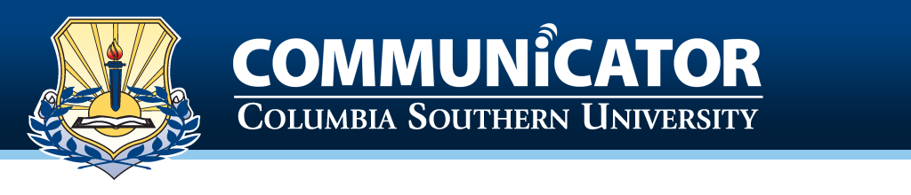 The Columbia Southern University Communicator logo