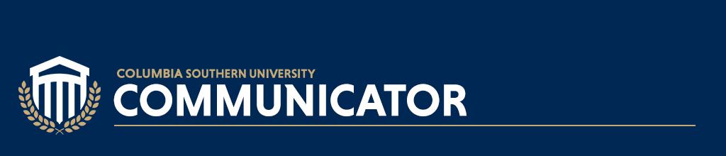 The Columbia Southern University Communicator logo